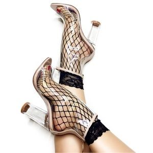 """Shoes - CLEAR """"see through"""" booties"""